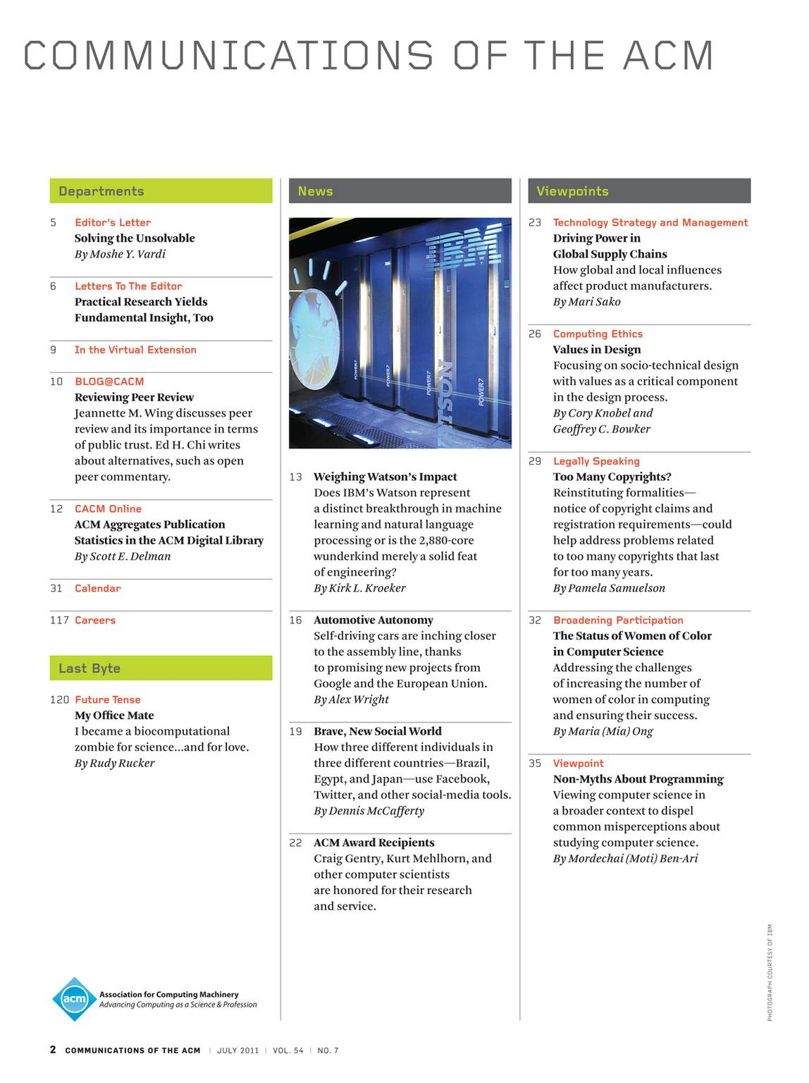 Communications - July 2011 - page CI