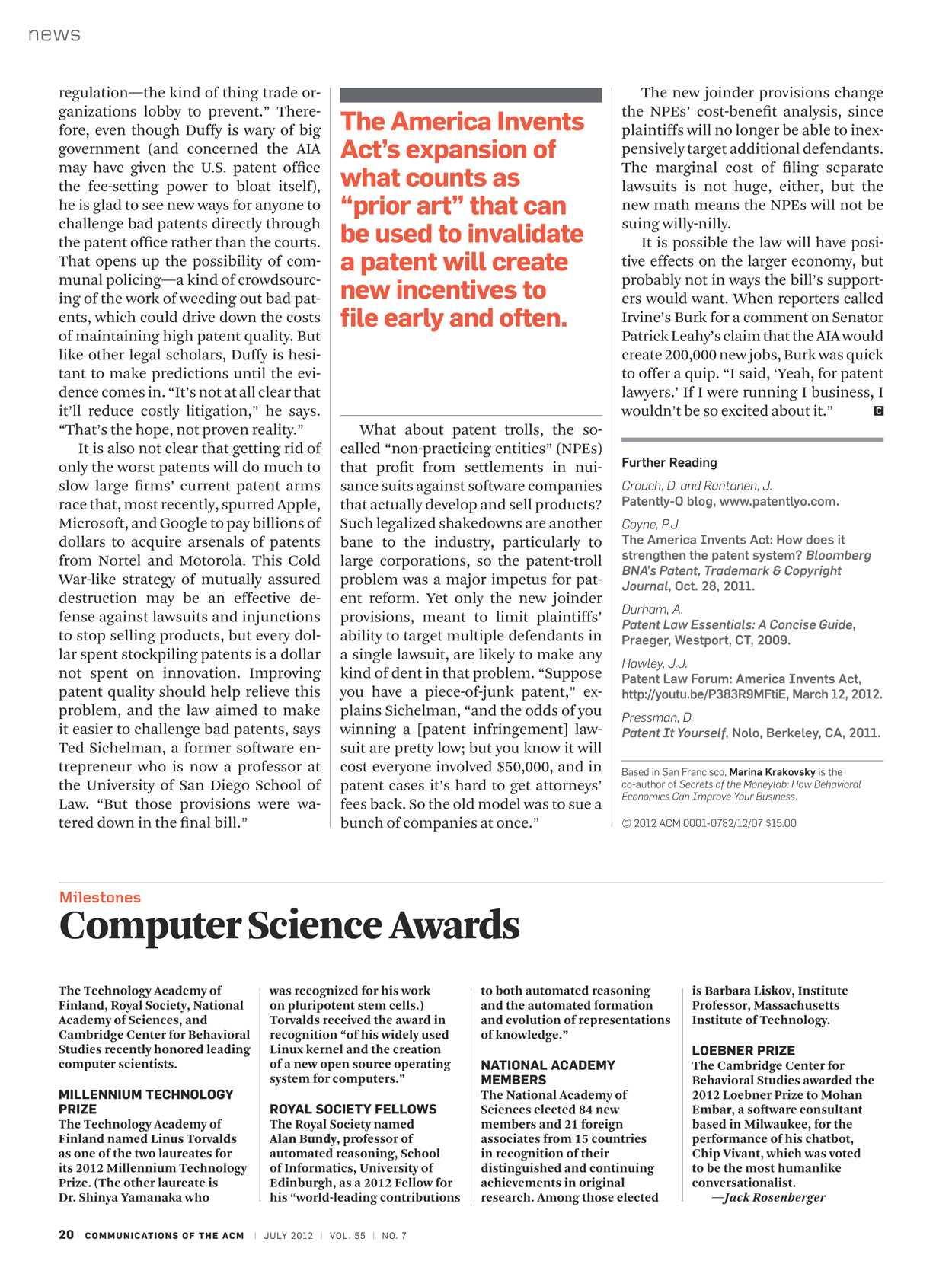 Communications July 2012 Page 20