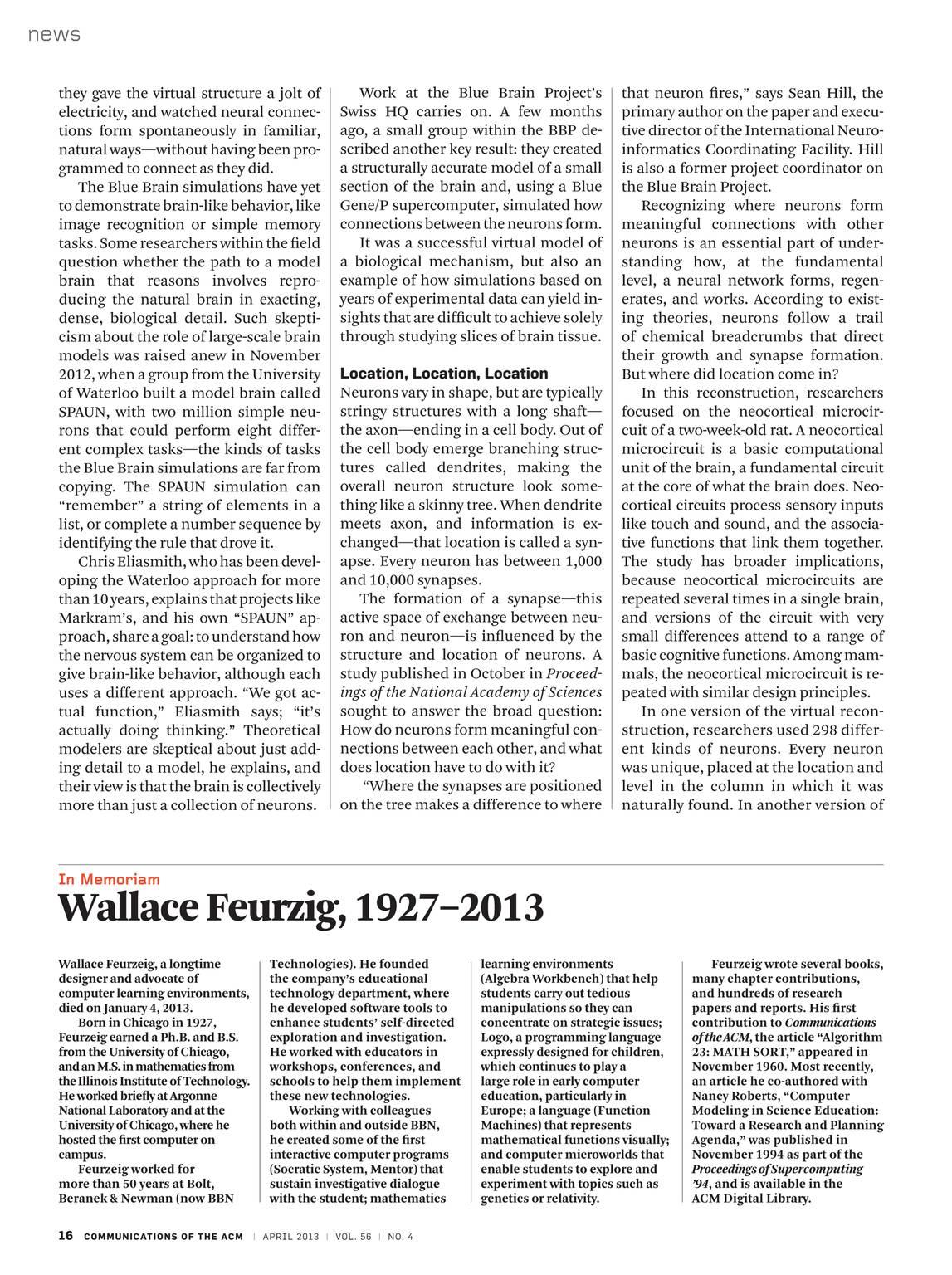 Communications - April 2013 - page 15