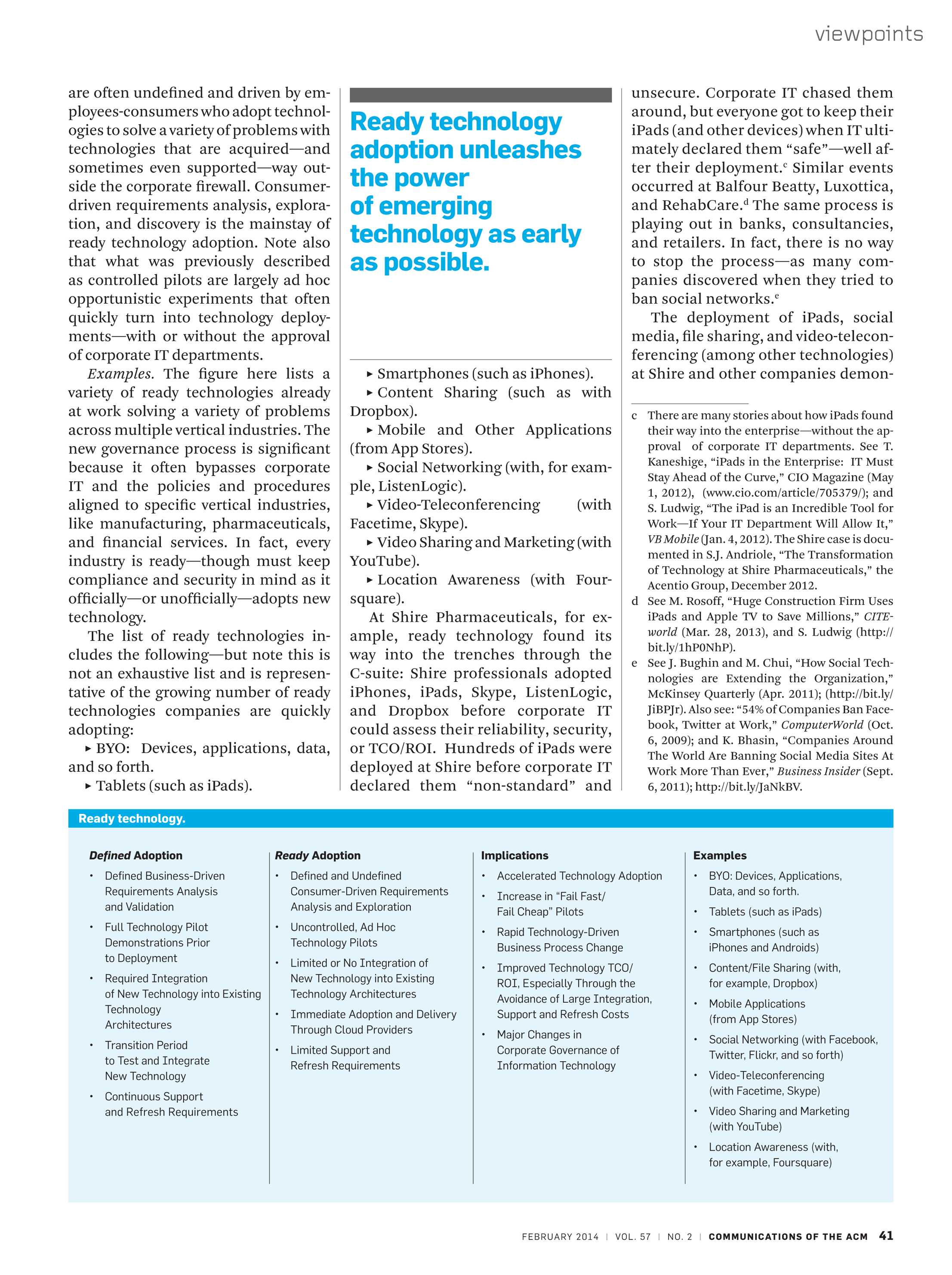 Communications of the ACM - February 2014 - page 41
