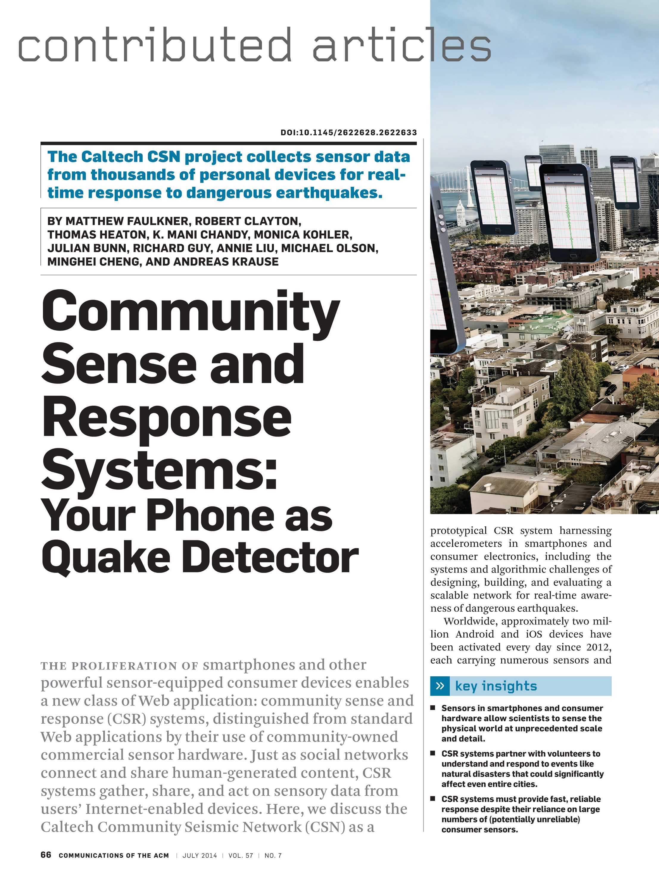 Communications of the ACM - July 2014 - page 66