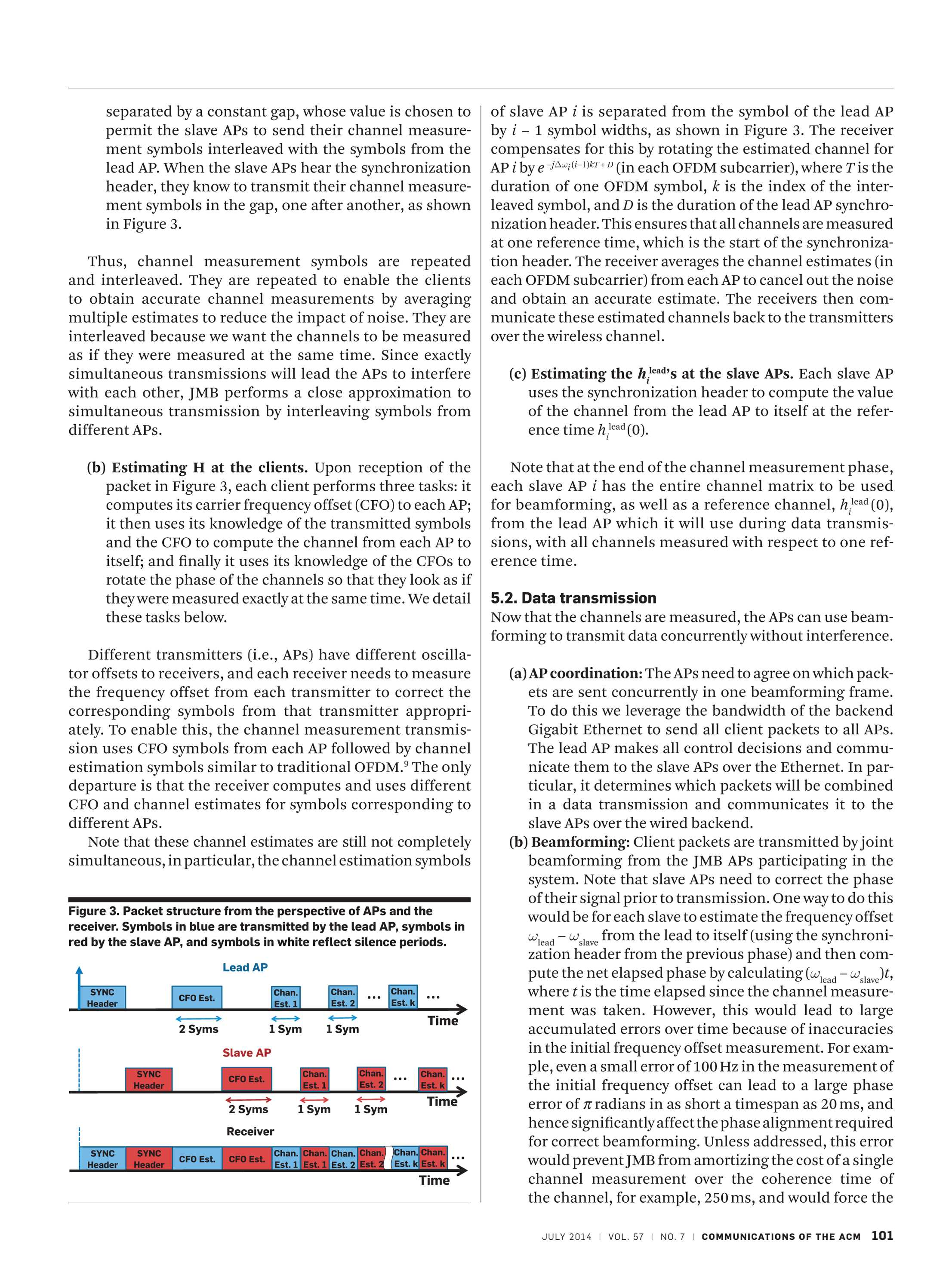 Communications of the ACM - July 2014 - page 101