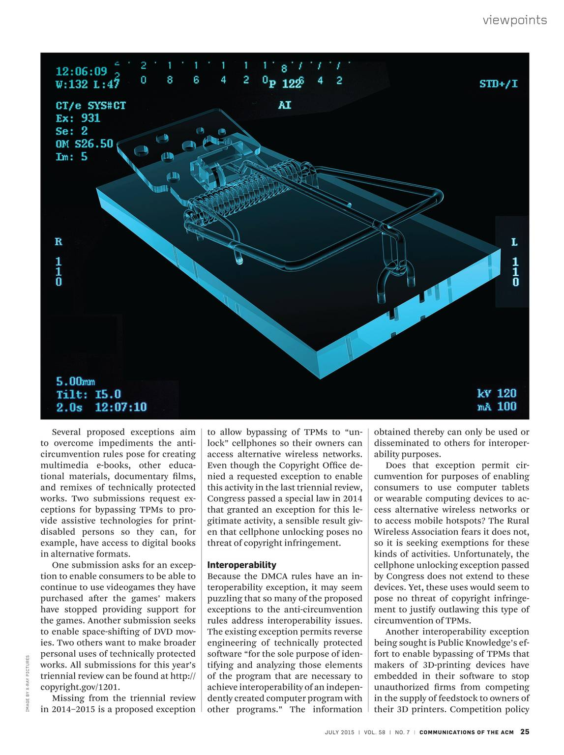 Communications of the ACM - July 2015 - page 26