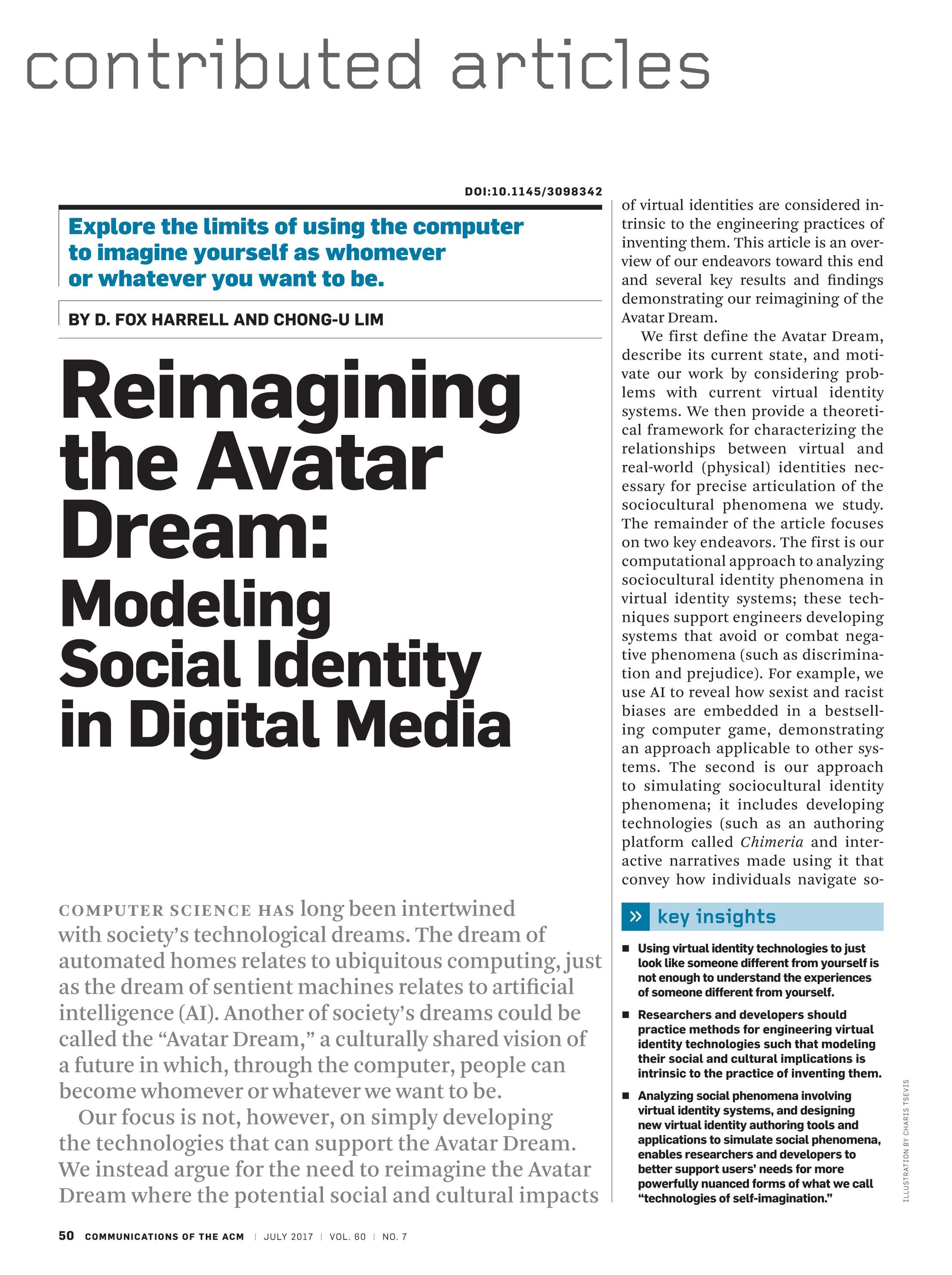 Communications of the ACM - July 2017 - page 50