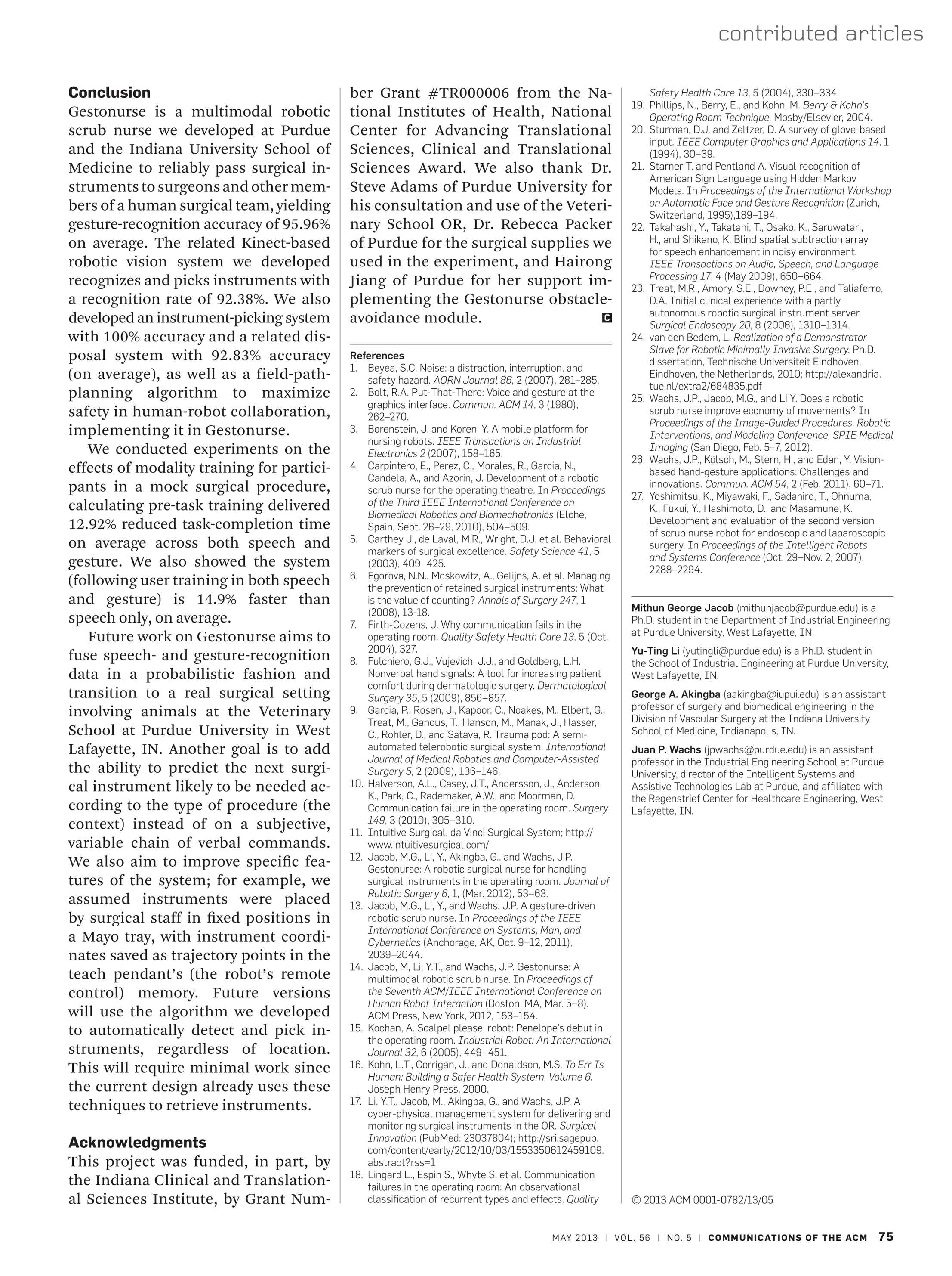 Communications of the ACM - May 2013 - page 75