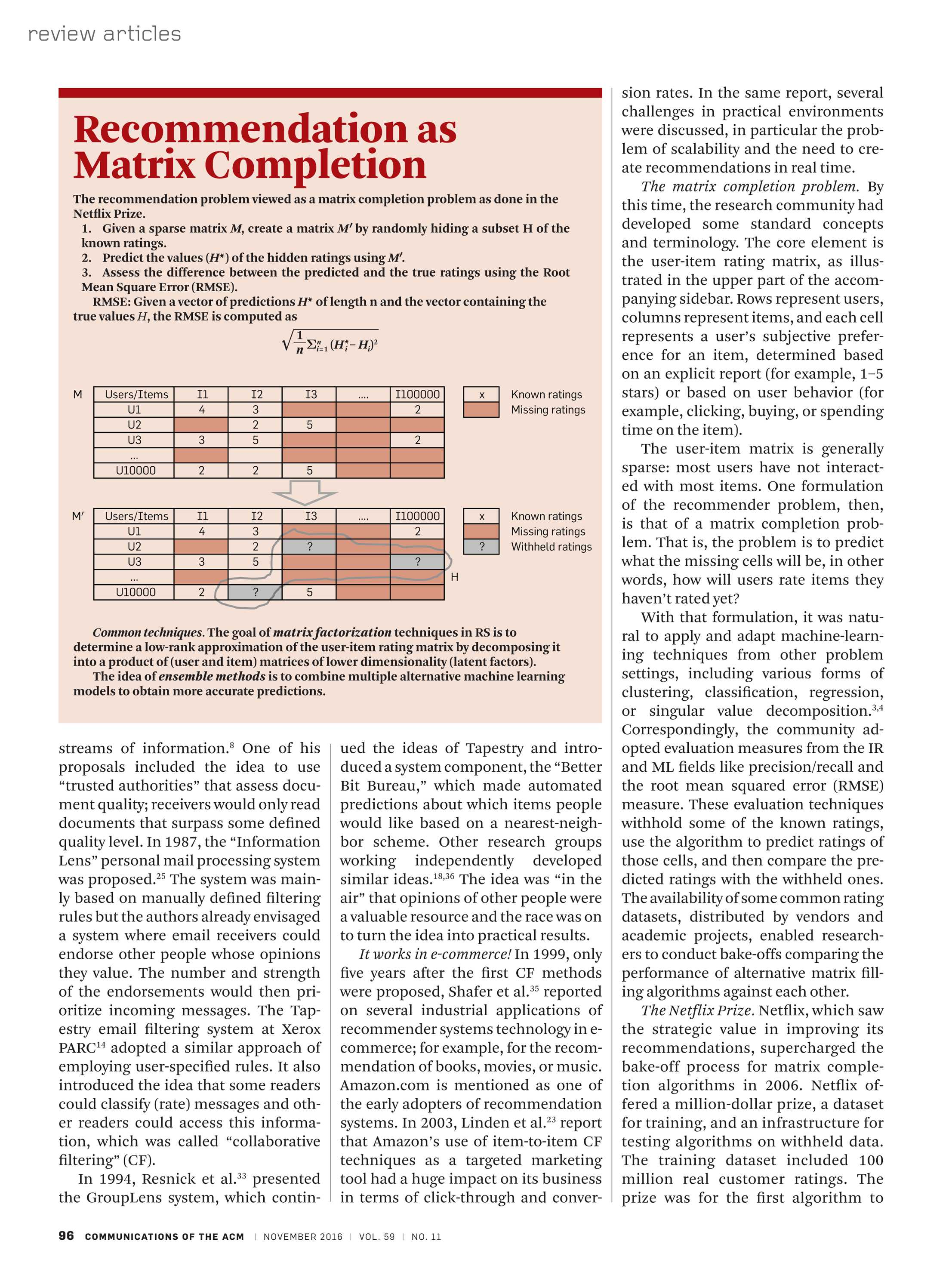 Communications of the ACM - November 2016 - page 96