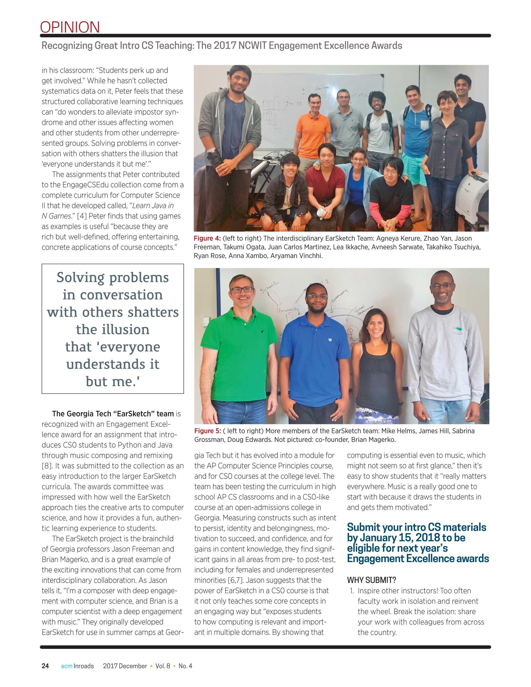 Inroads - December 2017 - page 24