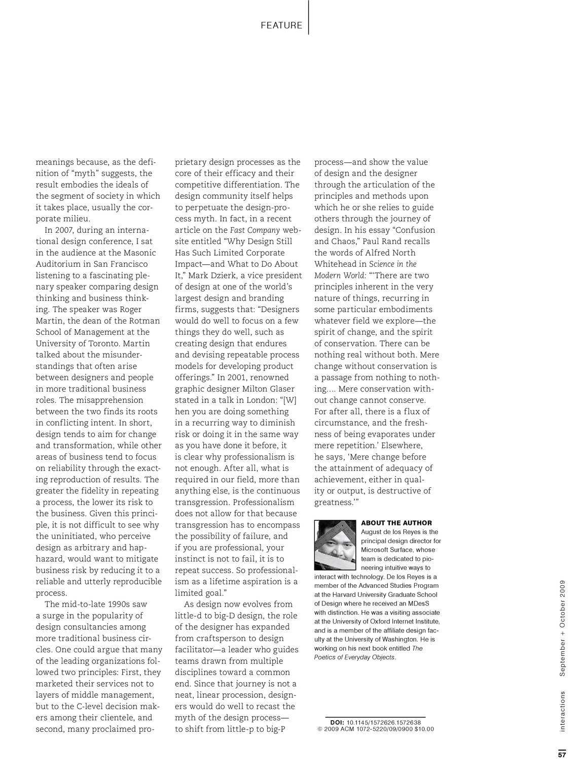 Interactions - September/October 2009 - page 57
