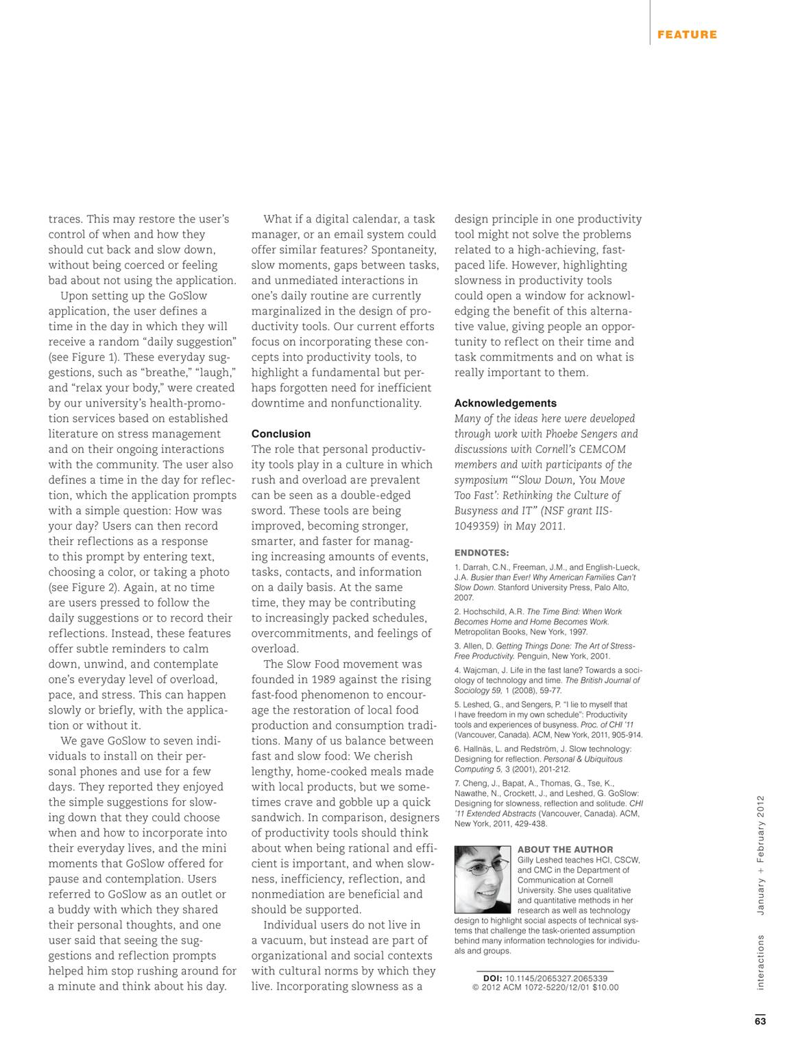 Interactions - January/February 2012 - page 64