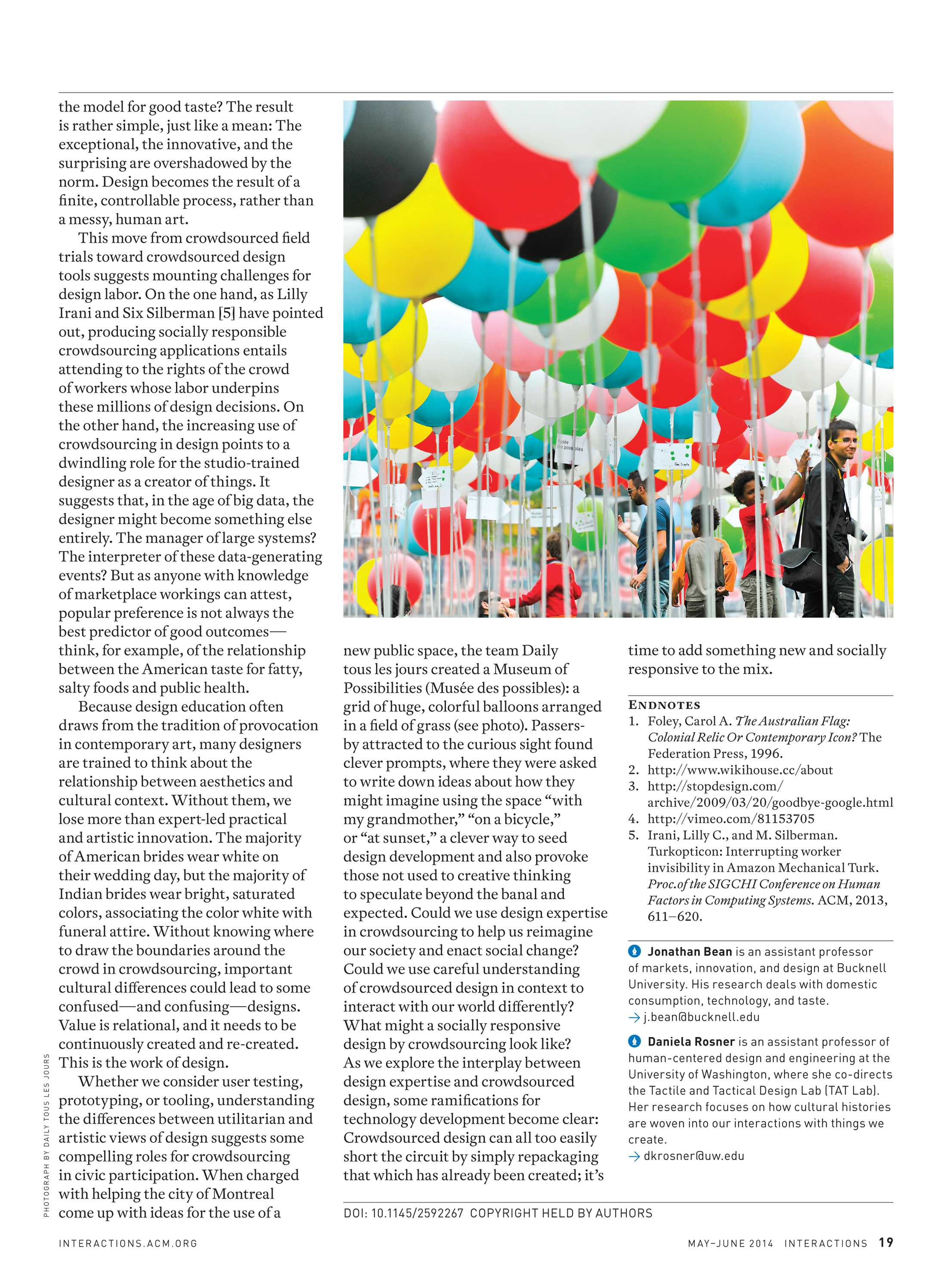 Interactions - May/June 2014 - page 19
