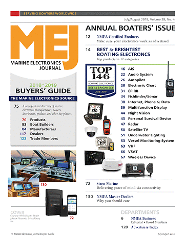 ME Marine Electronics - July/August 2018 - Page 4-5
