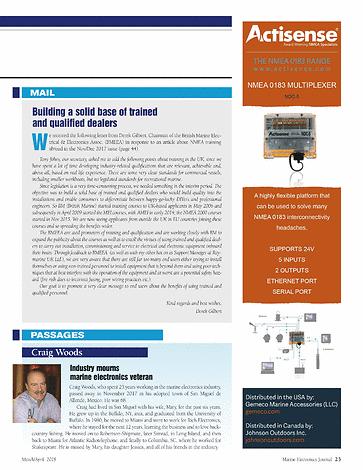 ME Marine Electronics - March/April 2018 - Page 22-23