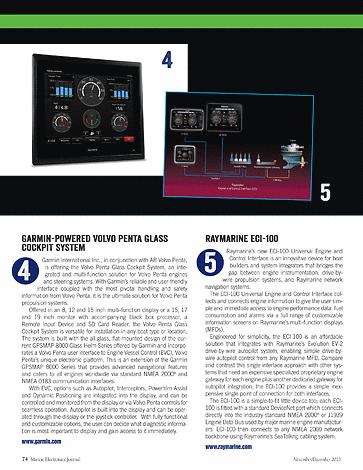 ME Marine Electronics - November/December 2013 - Page 74-75