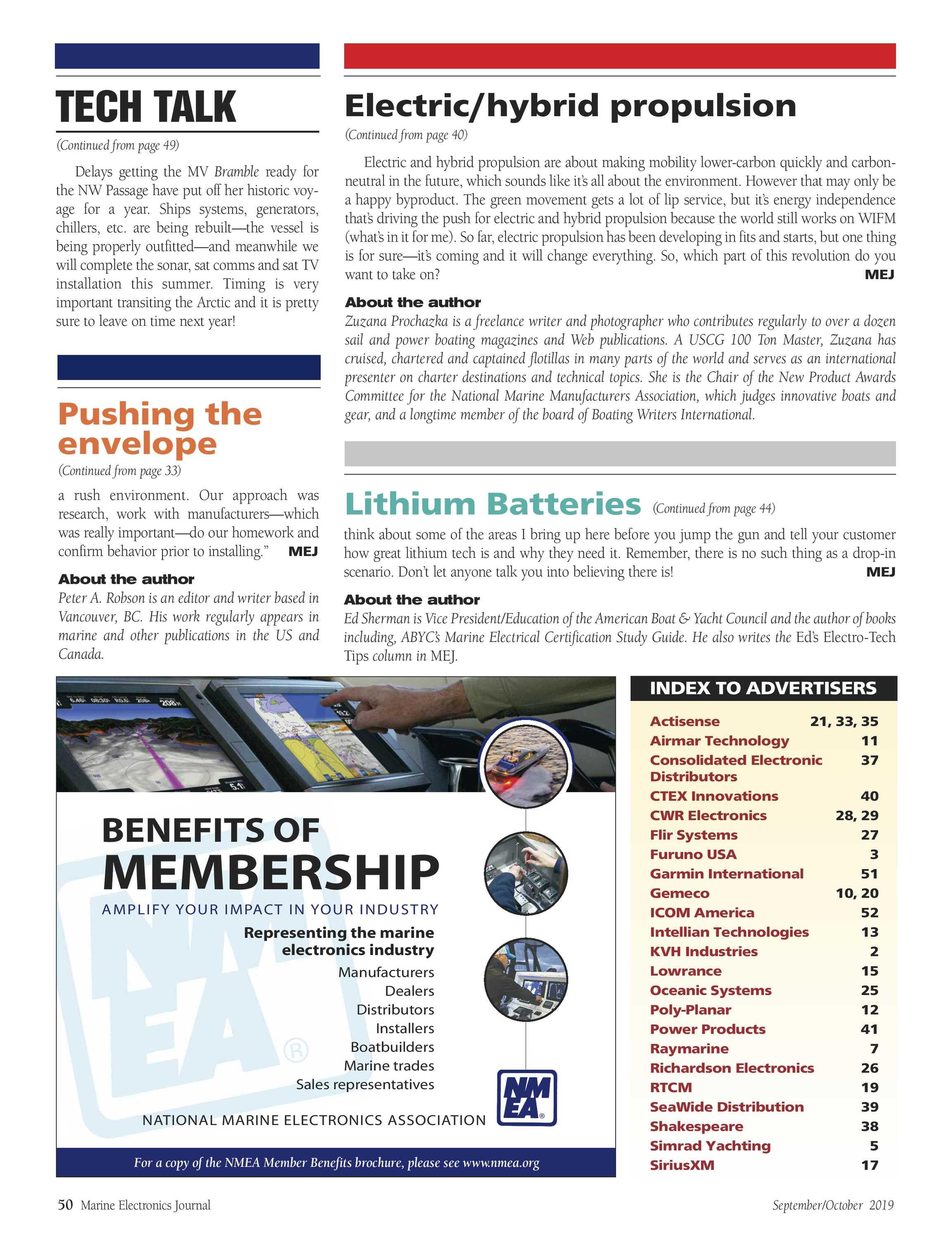 ME Marine Electronics - September/October 2019 - page 50